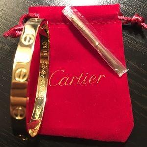 New Cartier Love Bracelet Gold Edsedsedsedsedsedse